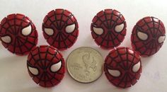 Spiderman Earrings BIG in Noella's Garage Sale in Wihcita , KS for $5.00. These are as big as a Quarter! They are worth it. So unique and fun! Can ship any place in USA excited to do business with you I have 8 pairs. Your buying ONE pair If you want more than one pair let me know THANK YOU