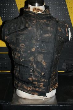 Very sturdy and functional! My sort of apocalyptic vest :D I like that it has pockets, and underneath the overly-bleached exterior, it has some major military influences. $115