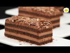 čokoládový kávový dort - YouTube