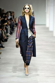 PFW. Dries Van Noten s.s 2013 >> LAST YEAR: Mixed material. THIS YEAR: mixed texture.