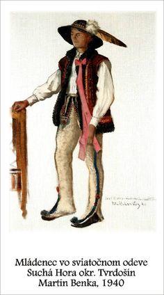 Slovakia, Suchá Hora Folk Costume, Costumes, Graphic Art, Illustration Art, Traditional, Music, Artist, Europe, Suits