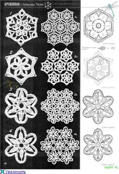 Irish Crochet Flowers                                                                                                                                                                                 Mais