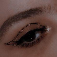 Edgy Makeup, Makeup Eye Looks, Eye Makeup Art, No Eyeliner Makeup, Cute Makeup, Pretty Makeup, Makeup Inspo, Makeup Inspiration, Eye Makeup Designs