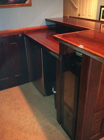 Build A Home Bar Using Recycled Materials Is An Inexpensive Way To Do It  This Is The Finished Bar Using Doors And Grea... | Pinterest | Bau2026