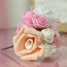 Assorted Hard Foam Flowers