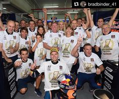 Brad Binder #41 is the new #moto3 champion!