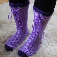 Neulotut tennarisukat Socks, Winter, Fashion, Winter Time, Moda, Fashion Styles, Sock, Stockings, Fashion Illustrations