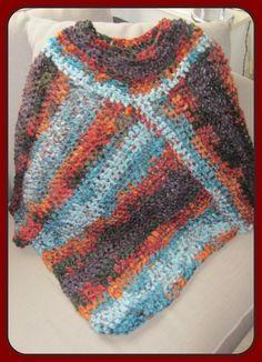 Dinah Creatief: Warme poncho!