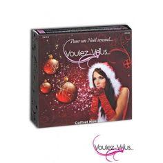"""Cofanetto Natalizio  Un regalo sensuale per il vostro Natale!  In questo coffret natalizio troverete deliziosi """"assaggi sensoriali"""": olii fragranti per il corpo, polveri sensuali baciabili per il corpo e olii gourmet per un massaggio afrodisiaco"""