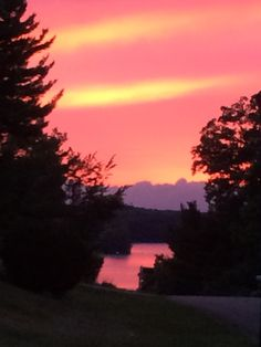 P. Lakes View from Mom & Dads place  #sunsetsinsummer #ohio