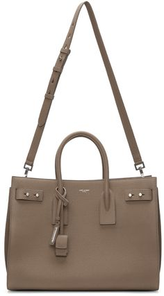 Saint Laurent - Taupe Medium Sac De Jour Tote