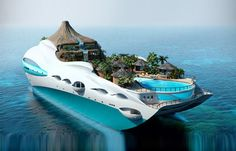 Luxury Overboard: Private Yacht as Tropical Island Paradise
