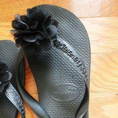 Designer Flip-flops DIY