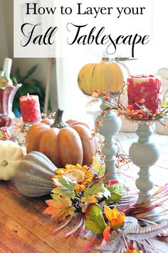 How to Decorate Your Farm Table Fall Edition - Refresh Restyle