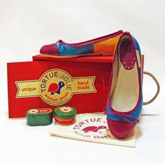 New Pompidou Blue / Rose  #Bailarinas #Ballerinas #StreetStyle #WomanShoes #FashionBlogger #UrbanStyle #FashionLadies #ShoeLovers #Zapatos #SpringStyle #TortueJolie