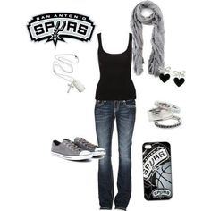 Spurs Gal! Got to have this in my closet!