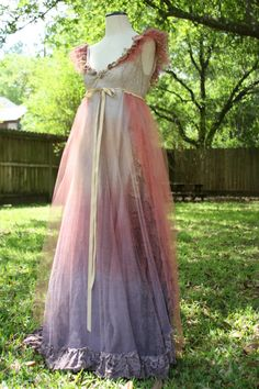 Love this simple ethereal dress...the colors are beautiful.