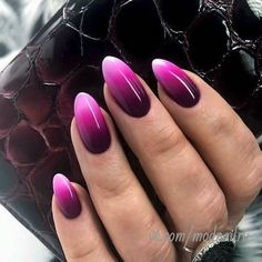 purple/pink ombre