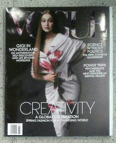 NUOVI ARRIVI... Riviste Internazionali di Moda Power Trip, Fashion Magazines, International Fashion, Spring Fashion, Leadership, Politics, Vogue, Science, Celebrities