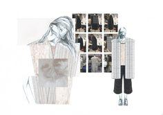 Fashion Sketchbook - fashion design development; fashion illustrations; layout // Rebecca Swann