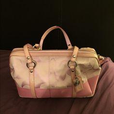 Pink Coach Monogram Purse Looks New Pink Coach Monogram Purse Looks New Coach Bags