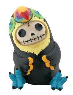 Furry Bones Toucan Mango Black Figurine *** Additional info  : Christmas Decorations