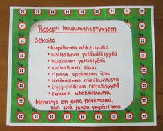 Resepti koulumenestykseen Future Jobs, Working With Children, School Classroom, Social Skills, Back To School, Kindergarten, Preschool, Projects To Try, Teacher