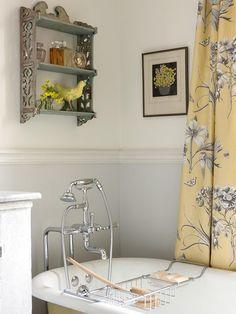 Sara Richardson's farmhouse bathroom.  Perfection.