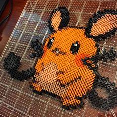 Dedenne (702) Pokemon hama beads by nickgalilei