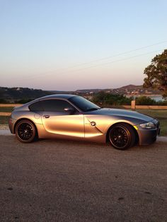 BMW Z4 Coupe (beautiful car)