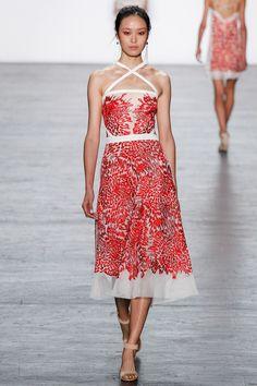 Tadashi Shoji - Spring 2017 Ready-to-Wear *embroidery