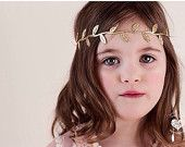 Grecian Goddess|| GOLD leaf halo || headband|| newborn-adult
