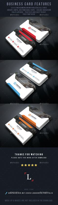 Soft Corporate Business Card Template PSD. Download here: http://graphicriver.net/item/soft-corporate-business-card/14669452?ref=ksioks