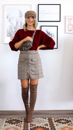 Casual Winter Outfits, Summer Outfits Women, Winter Fashion Outfits, Cute Fashion, Trendy Outfits, Cool Outfits, Womens Fashion, Dress Fashion, Dress Outfits