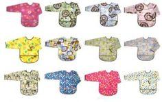 Ben je op zoek naar een patroon om zelf een mouwslabbe te maken voor de baby en/of de peuter, dan …
