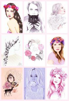 Rose Tinted Illustrations