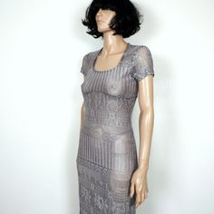 Trashy 90s Lace Club Dress S M by poetryforjane on Etsy, $22.00