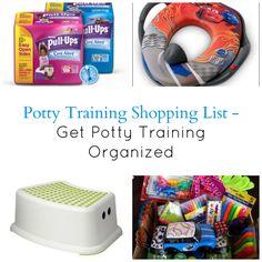 Potty Training Shopping List - Get Potty Training Organized http://cityofcreativedreams.blogspot.ca/2014/03/potty-training-shopping-list-get-potty.html