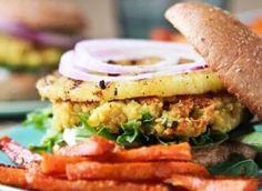 Chickpea Quinoa Pineapple Burgers - Door to Door Organics