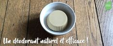 Recette de déodorant solide naturel et zéro déchet