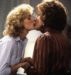 """Still of Dustin Hoffman and Jessica Lange in """"Tootsie"""" (1982)"""