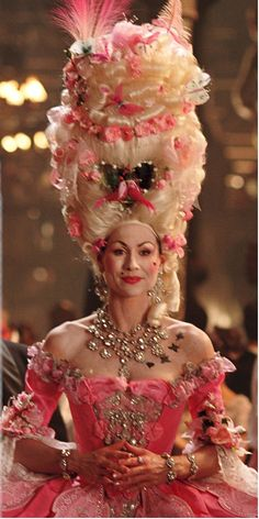 The Phantom of the Opera, with Minnie Driver as Carlotta. #CostumeDesign: Alexandra Byrne