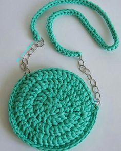 … Crotchet Bags, Knitted Bags, Crochet Handbags, Crochet Purses, Free Crochet Bag, Knit Crochet, Yarn Bag, Bag Pattern Free, Diy Tote Bag