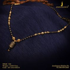 Gold 916 Premium Design Get in touch with us on Gold Mangalsutra Designs, Gold Jewellery Design, Pendant Jewelry, Beaded Jewelry, Pendant Necklace, Gold Jhumka Earrings, Long Silver Necklace, Gold Jewelry Simple, Necklace Designs