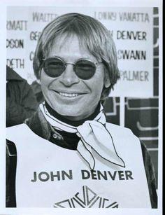 """John Denver Original 7x9"""" Photo #E1186"""