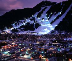 Jackson, WY, one of America's prettiest winter towns.