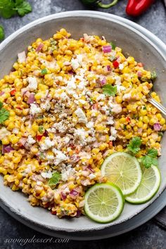 Corn Salad Recipes, Chickpea Recipes, Corn Salads, Summer Corn Salad, Make Ahead Salads, Mexican Street Corn Salad, Corn Dishes, Juicy Steak
