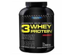 Whey Protein 3W Chocolate 2,2Kg Probiótica - Proteína Concentrada, Isolada e Hidrolizada