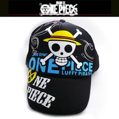 Men's Sun Hats Supply Cool Cosplay Anime One Piece Monkey D Luffy Sun Cap Casual Adjustable Summer Mesh Hat For Men Women Online Discount Apparel Accessories