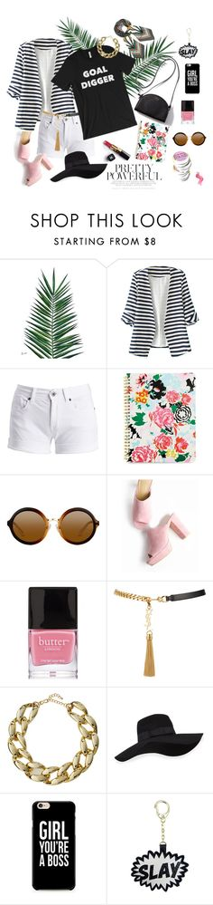 """""""Goal Digger"""" by hello-alex on Polyvore featuring Nika, WithChic, Chanel, Barbour International, ban.do, Butter London, Yves Saint Laurent, Kenneth Jay Lane, San Diego Hat Co. and Tory Burch"""